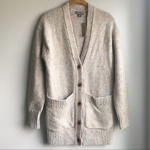 NWT JCrew Point Sur Oversized Chunky Knit Cardigan
